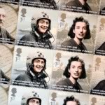 The Royal Mail pays tribute to Donald by featuring him on a 1st Class stamp