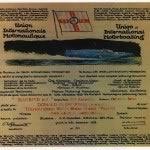 Donald's 10th Dec 1958 Water Speed Record Certificate