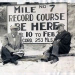 Sitting down with with Pop Meyers, referee of the Daytona Beach speed trials, Feb 1933